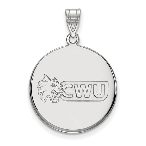 SS Central Washington University Large Disc Pendant