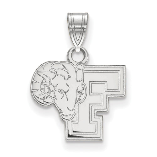 SS Fordham University Small Rams Pendant
