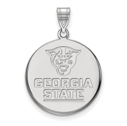 SS Georgia State University Large Disc Pendant
