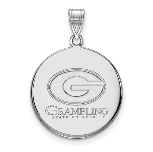 SS Grambling State University Large Disc Pendant