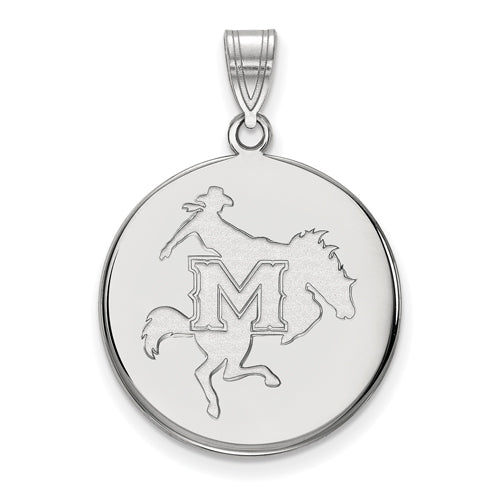 SS McNeese State University Large Disc Pendant