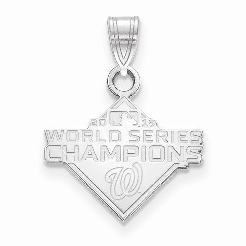 SS 2019 World Series Champions Washington Nationals Small Pendant