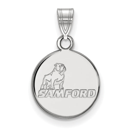 SS Samford University Small Pendant