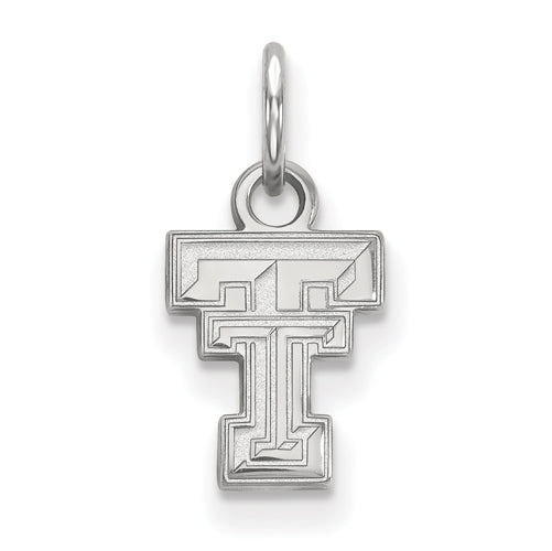 Sterling Silver LogoArt Texas Tech University XS Pendant