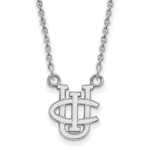 SS U of California-Irvine Small Pendant w/Necklace