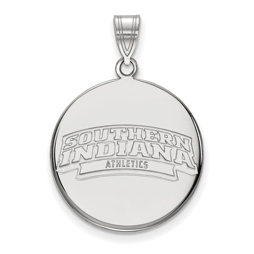 SS University of South Indiana Large Disc Pendant