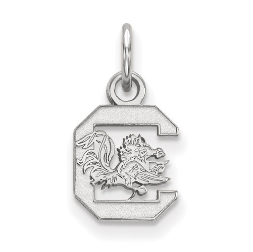 SS University of South Carolina XS Gamecock logo Pendant
