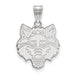 SS Arkansas State University Large Red Wolves Pendant