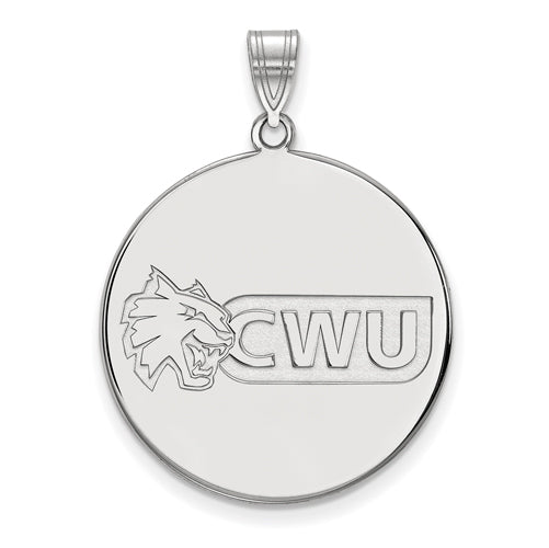SS Central Washington University XL Disc Pendant