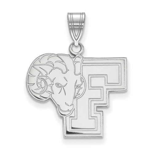 SS Fordham University Large Rams Pendant