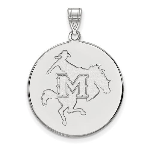 SS McNeese State University XL Disc Pendant