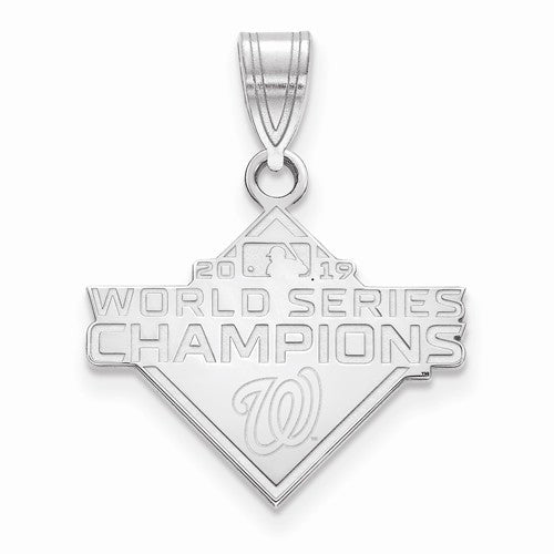 SS 2019 World Series Champions Washington Nationals Medium Pendant