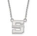 SS Swarthmore College Small Pendant w/ Necklace