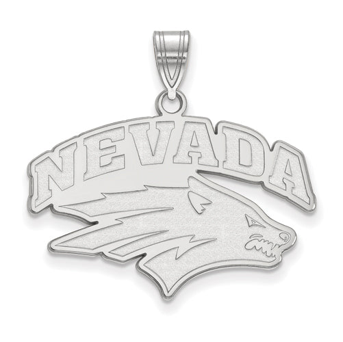 SS University of Nevada Large Wolf Pack Pendant