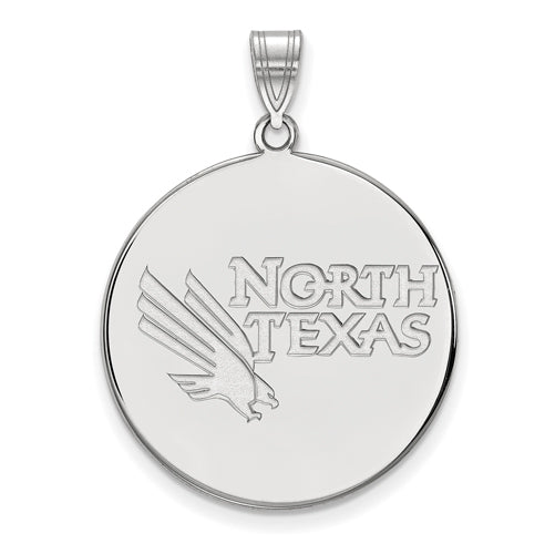SS University of North Texas XL Disc Pendant