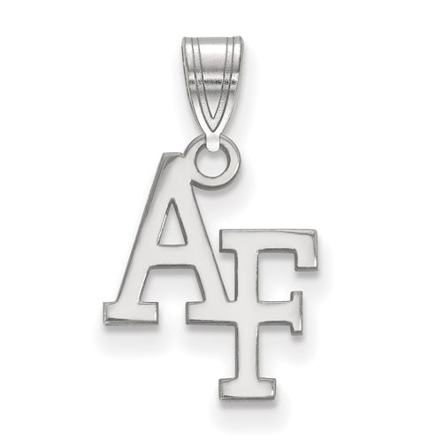 Sterling Silver US Air Force Academy Small Pendant