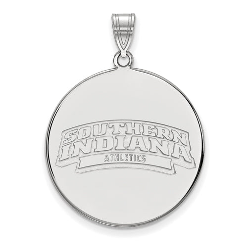 SS University of South Indiana XL Disc Pendant