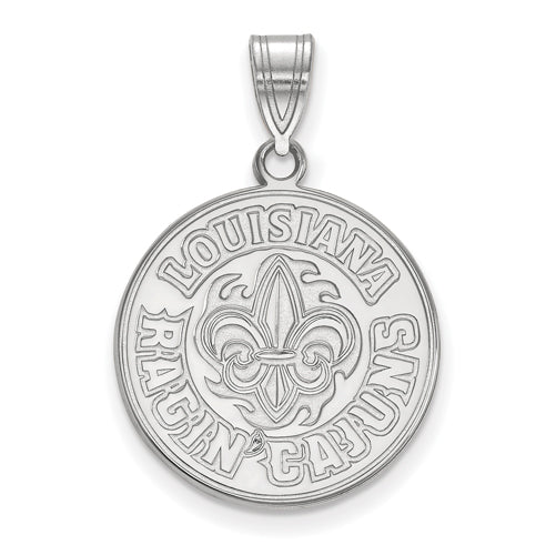 SS University of Louisiana at Lafayette Large Pendant