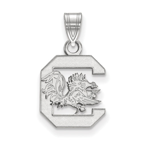 SS University of South Carolina Small Gamecock logo Pendant