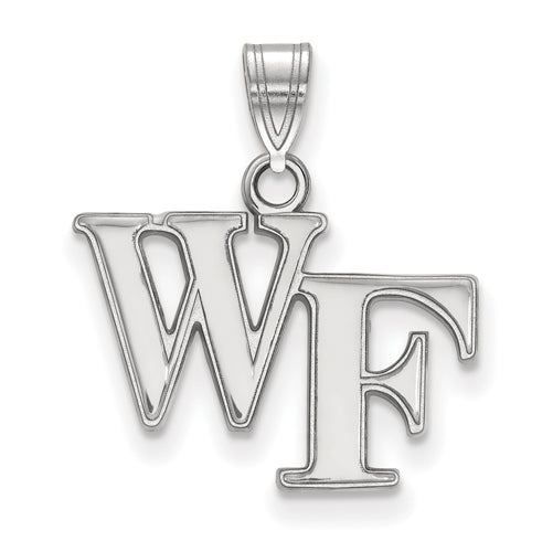 SS Wake Forest University Small WF Pendant