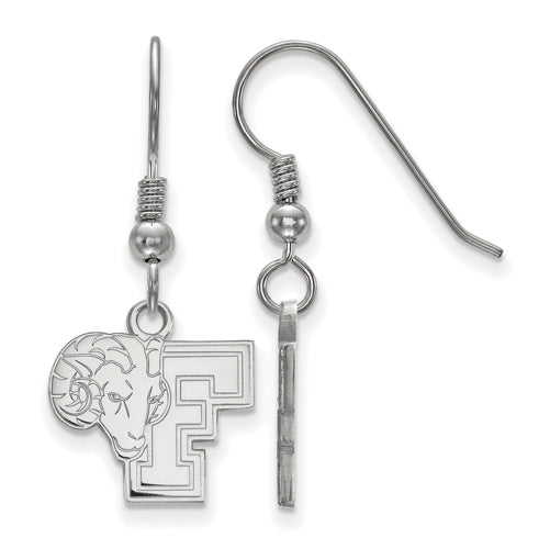 SS Fordham University Small Rams Dangle Earrings