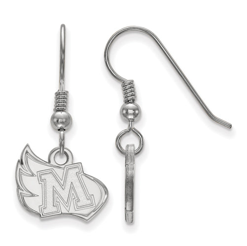 SS Meredith College Small Dangle Earrings