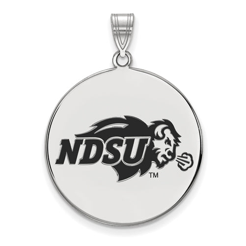 SS North Dakota State XL Enamel Disc Pendant
