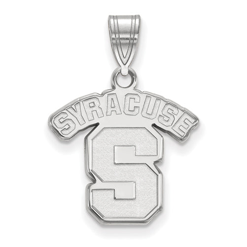 14kw Syracuse University Medium Logo Pendant