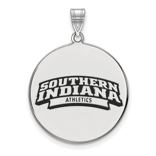 SS University of South Indiana XL Enamel Disc Pendant