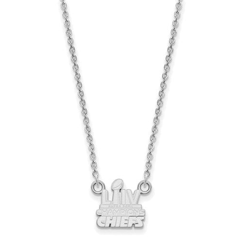 SS Kansas City Chiefs Super Bowl LIV Champions Small Necklace