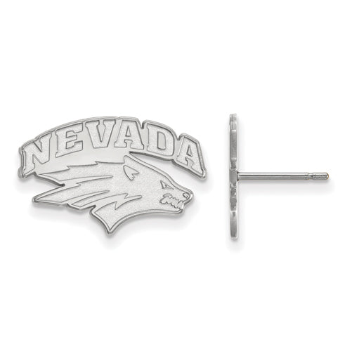 SS University of Nevada Small Post Wolf Pack Earrings