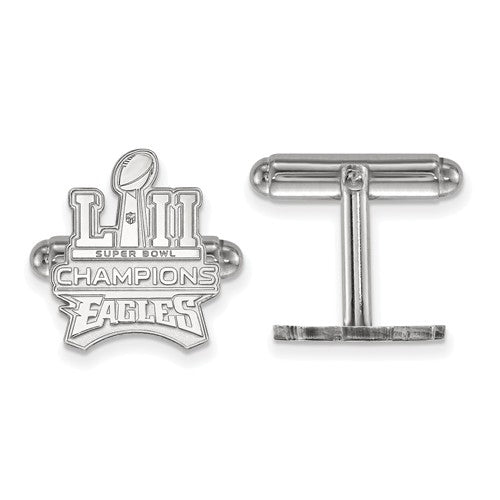 SS Phila Eagles Super Bowl LII Champions Trophy Cuff Links