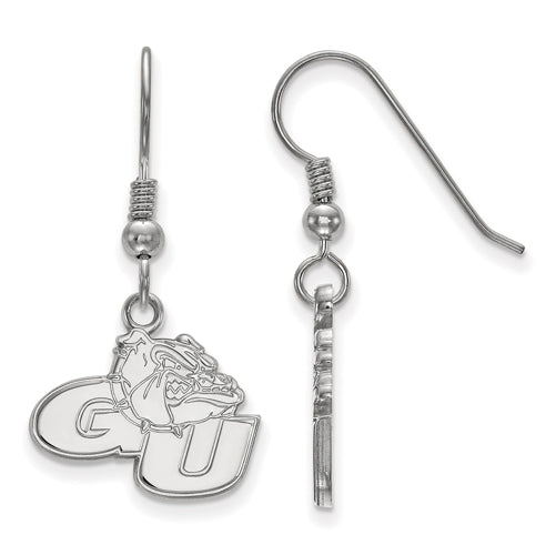 SS Gonzaga University Small Dangle Earrings