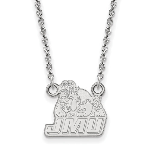 SS James Madison University Small JMU Dukes Pendant w/Necklace