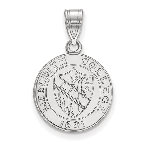 SS Meredith College Medium Crest Pendant