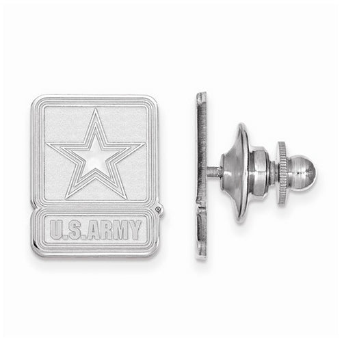 Sterling Silver United States Army Lapel Pin