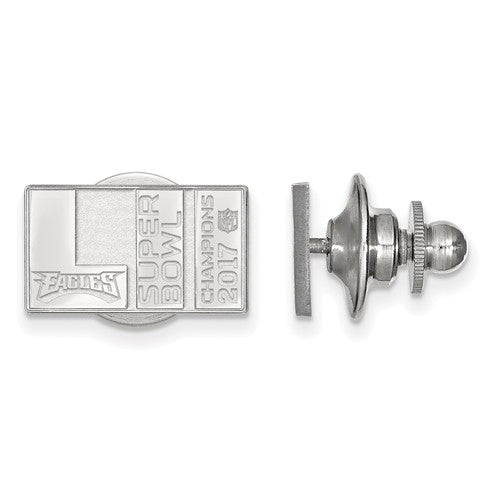 SS Phila Eagles Super Bowl LII Champions Lapel Pin