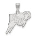 10kw Virginia Commonwealth University Large Rams Logo Pendant