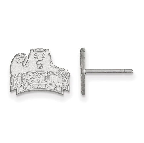 14kw LogoArt Baylor University XS Post Earrings