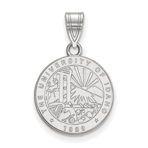 SS University of Idaho Medium Crest Pendant