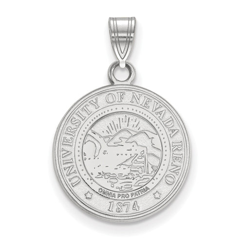 SS University of Nevada Medium Crest Pendant