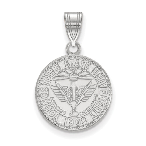 SS Youngstown State University Medium Crest Pendant
