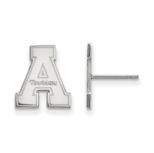10kw Appalachian State University Small Post Earrings
