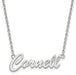 "SS Cornell University Small ""Cornell"" Pendant w/ Necklace"