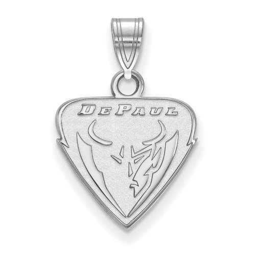 SS DePaul University Small Demon Face Pendant