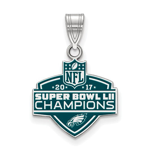 SS Phila Eagles Super Bowl LII Champions Med Enamel