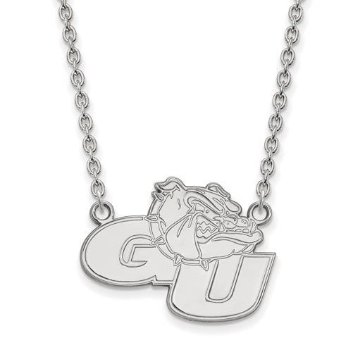 SS Gonzaga University Large Pendant w/Necklace