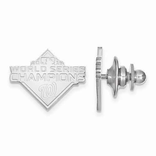 SS 2019 World Series Champions Washington Nationals Tie Tac