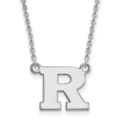 SS Rutgers Small Pendant w/Necklace