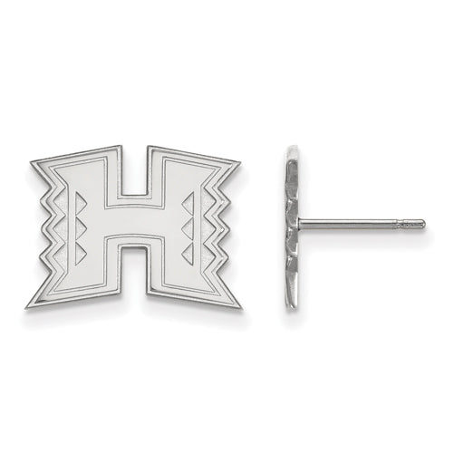 10kw The University of Hawaii Small Post Earrings